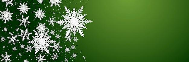 Płatki śniegu luksusowy wzór na niebieskim tle. nowoczesny design na boże narodzenie, zimę lub nowy rok materiał tła, abstrakcyjna dekoracja płatka śniegu na kartkę z życzeniami, baner sprzedaży