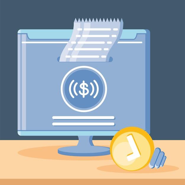 Płatność online przez komputer