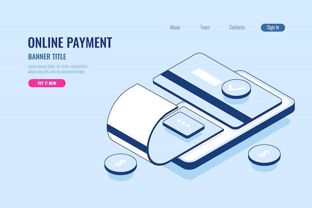 Płatność online, tytuł banera