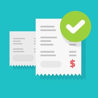 Płatność rachunku powodzenia