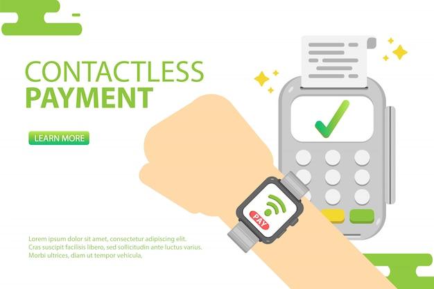 Płatność za inteligentny zegarek