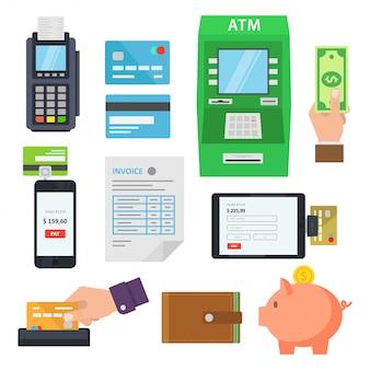 Płatności usług za pośrednictwem terminali i usług internetowych