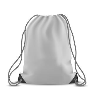 Plecak na białym tle