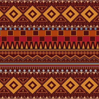 Plemienna etniczna bezszwowa deseniowa tapeta