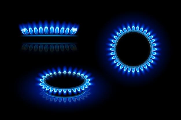 Płomień gazowy