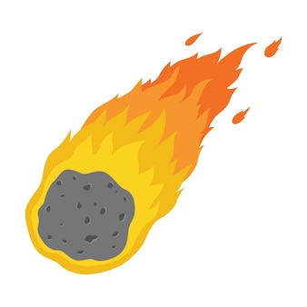 Płomień meteorytu
