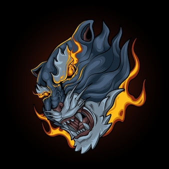 Płomienne oko tygrysa