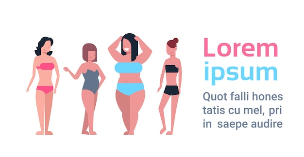 Plus size kobiecy inny kształt ciała