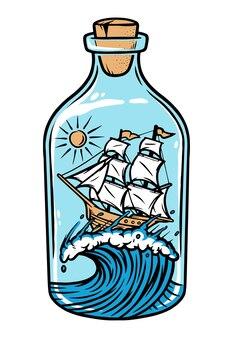 Płyń w butelce
