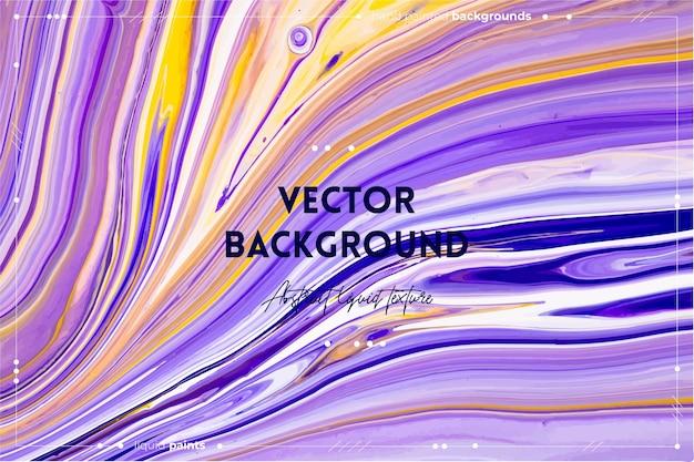 Płynna sztuka tekstury abstrakcyjna z efektem farby w tle płynnych akrylowych farb mieszanych.