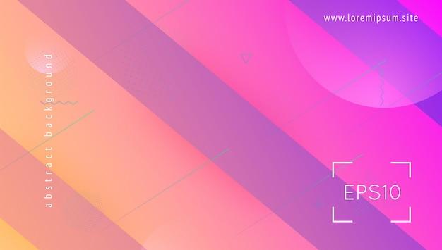 Płynny baner. cyfrowa okładka. zaproszenie handlowe. kolorowa strona docelowa. fioletowe tło jasne. żywa strona. kształt geometryczny 3d. ekran płynny. liliowy płynny baner