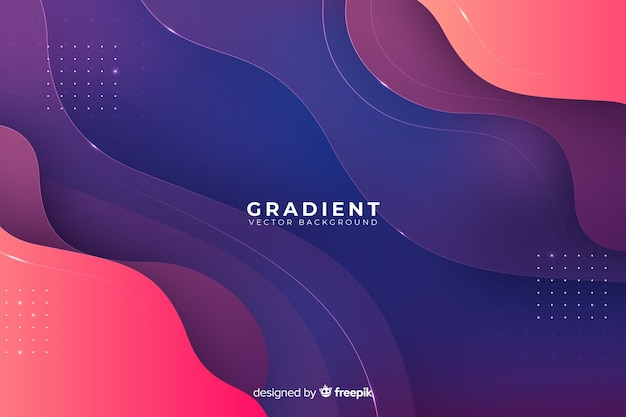 Płynny deseń gradientu
