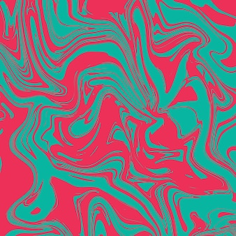 Płynny marmurowy wzór, kolorowa marmurkowa powierzchnia, żywy abstrakcyjny wzór farby