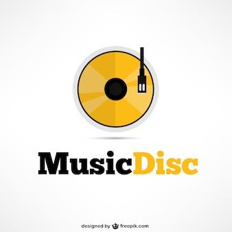 Płyta muzyka logo