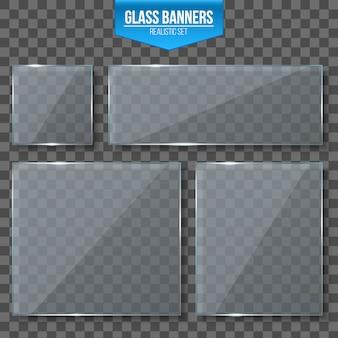 Płytki szklane