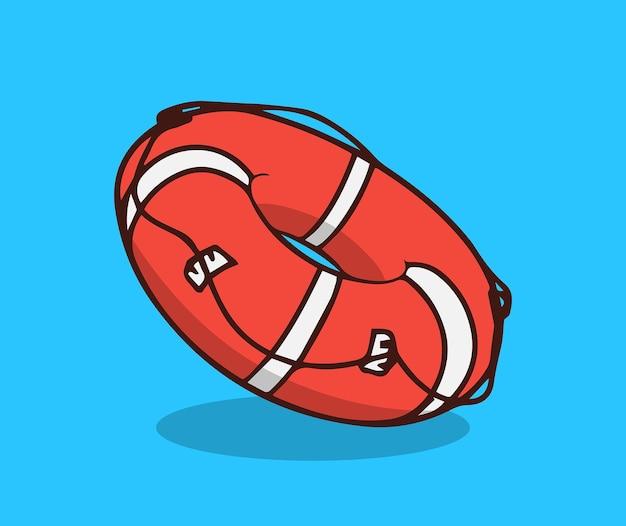 Pływanie boja letnia plaża