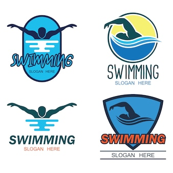 Pływanie logo