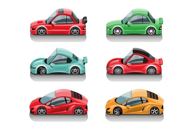 Po rozpoczęciu gry gracz może wybrać samochód wyścigowy w bibliotece gier i zwiększyć wydajność samochodu wyścigowego racing