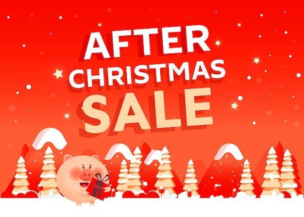 Po świątecznej koncepcji sprzedaży banner