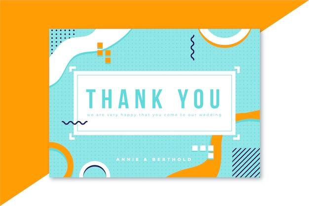 Pobieramy się karta z podziękowaniami