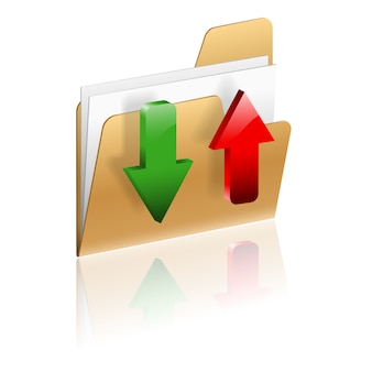 Pobierz i prześlij ikonę folderu