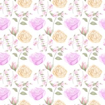 Pobierz kwiatowy wzór bez szwu dla mody