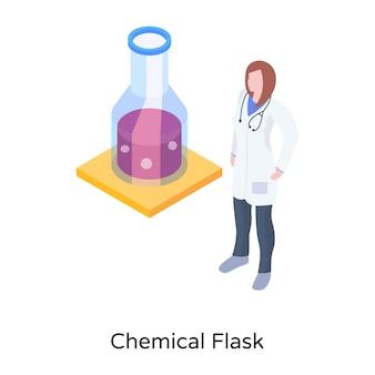 Pobierz projekt izometryczny kolby chemicznej