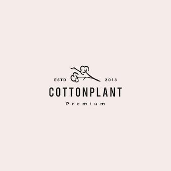 Pobierz wektor logo ikona bawełny