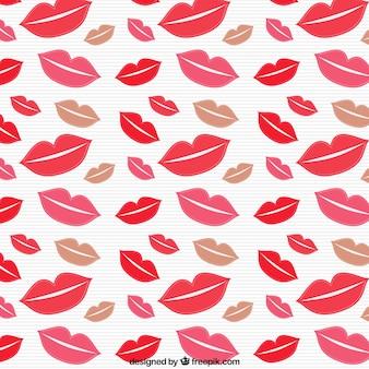 Pocałunki wzór