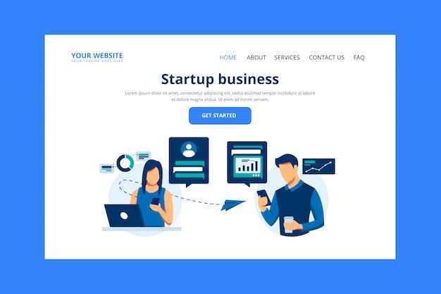 Początkowa strona docelowa firmy