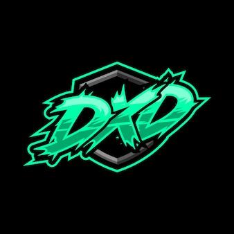 Początkowe logo gry dxd