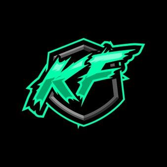 Początkowe logo gry kf