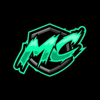 Początkowe logo gry mc