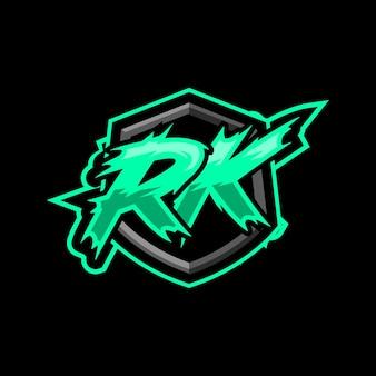 Początkowe logo gry rk