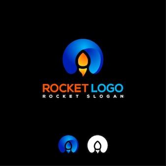 Początkowe logo rakiety