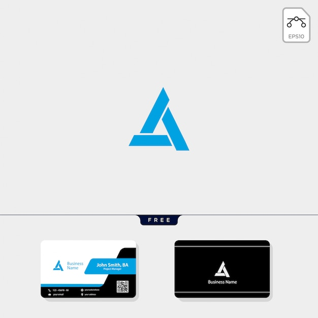 Początkowy minimalny szablon logo
