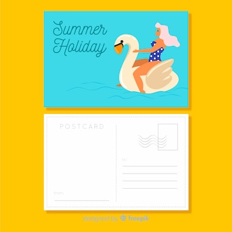 Pocztówka z wakacji letnich