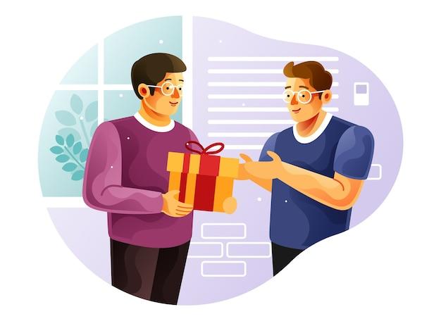 Podaruj pudełko prezentowe znajomemu