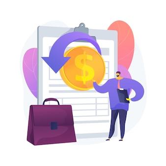 Podatek dochodowy od osób prawnych deklaruje streszczenie ilustracja koncepcja