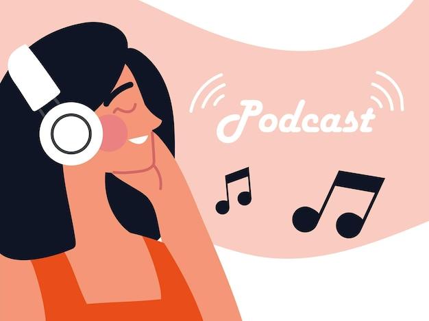 Podcast kobieta muzyka