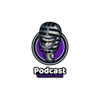 Podcast zabawny mikrofon radiowy online