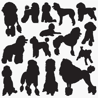 Poddle silhouettes