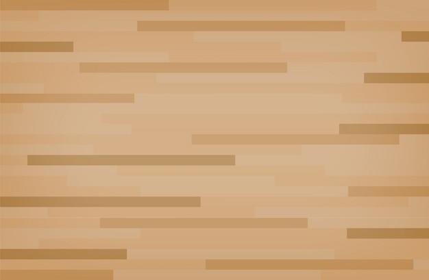 Podłoga wyłożona boazerią z twardego drewna klonowego.