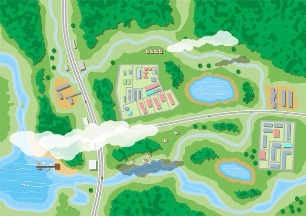 Podmiejska mapa przyrody