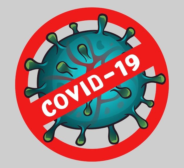 Podpisz wirusa z tekstem covid 19