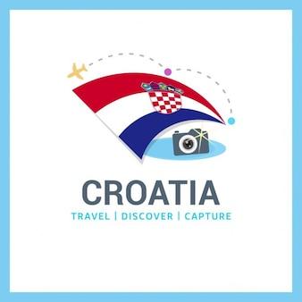 Podróż do chorwacji logo