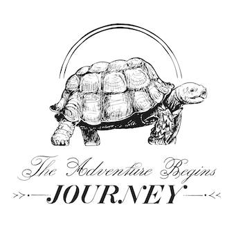 Podróż i podróż logo wektor