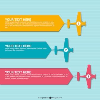 Podróż infografika szablon