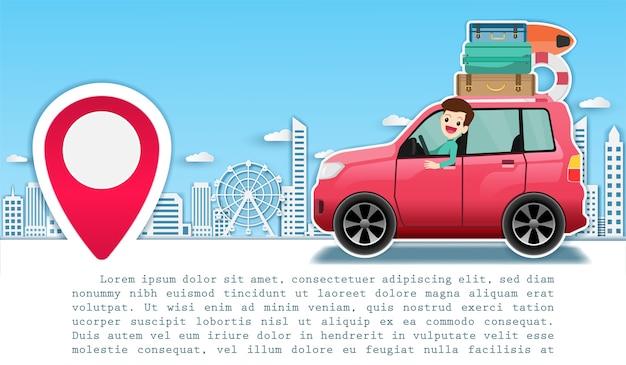 Podróż samochodem dookoła świata.