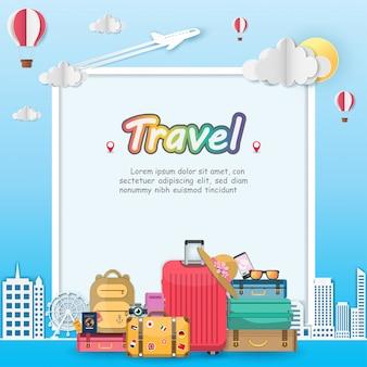 Podróżowanie samolotem i bagażami